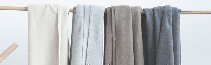 Wollen deken pluist
