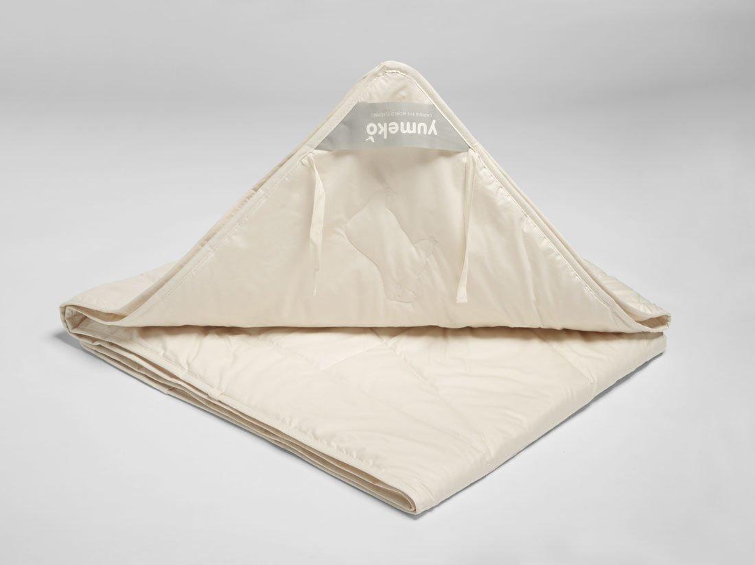 Schurwolle Bettdecke Sommer Knupfbander 240x220