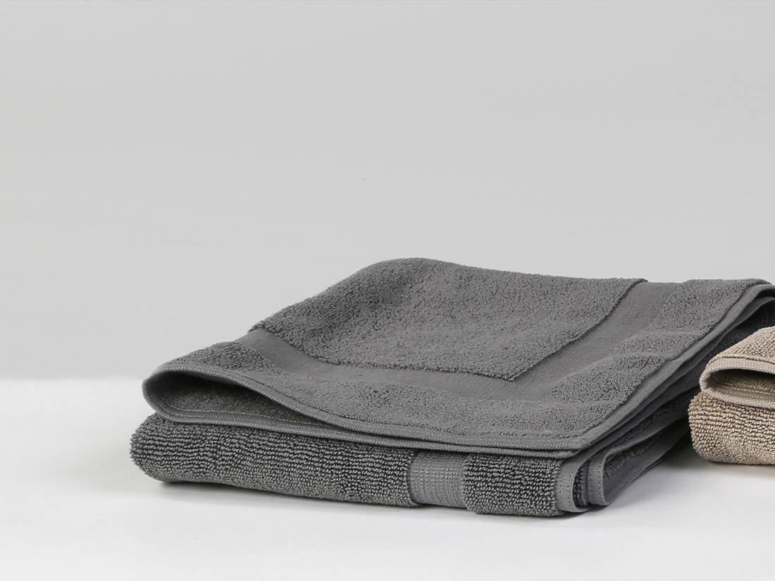 Badematte Basic Dark Grey
