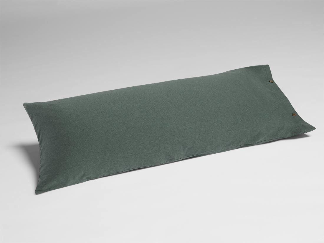 Kissenbezug Jersey Pine Green 40x80