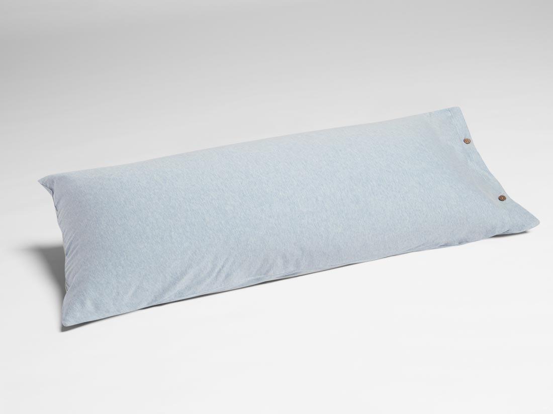 Kissenbezug Jersey Soft Blue 40x80