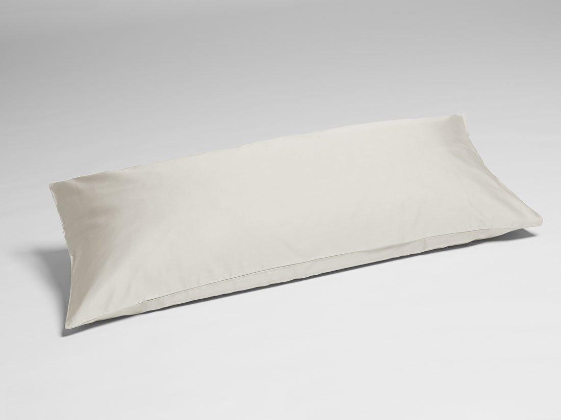 Kissenbezug Baumwollsatin Sandy Grey 40x80