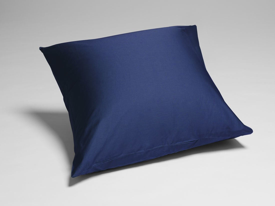 Kissenbezug Baumwollsatin Night Blue 80x80