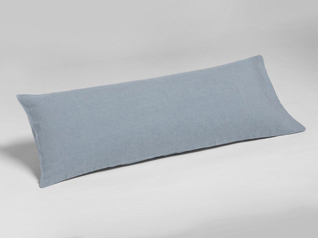 Kissenbezug Gewaschen Leinen Dusk Blue 40x80