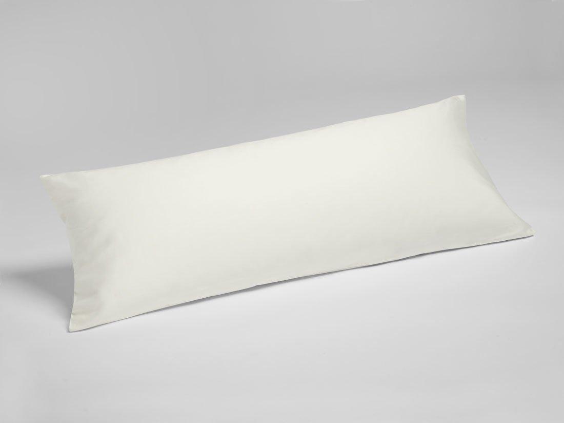 Kissenbezug Baumwollsatin Warm White 40x80