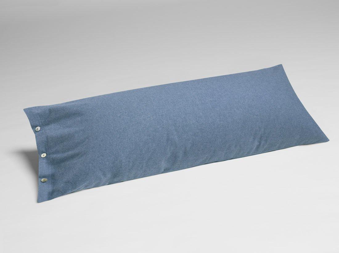 Kissenbezug Velvet Flanell Denim Blue 40x80