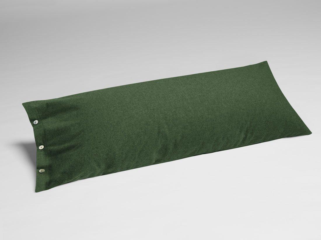 Kissenbezug Velvet Flanell Moss Green 40x80