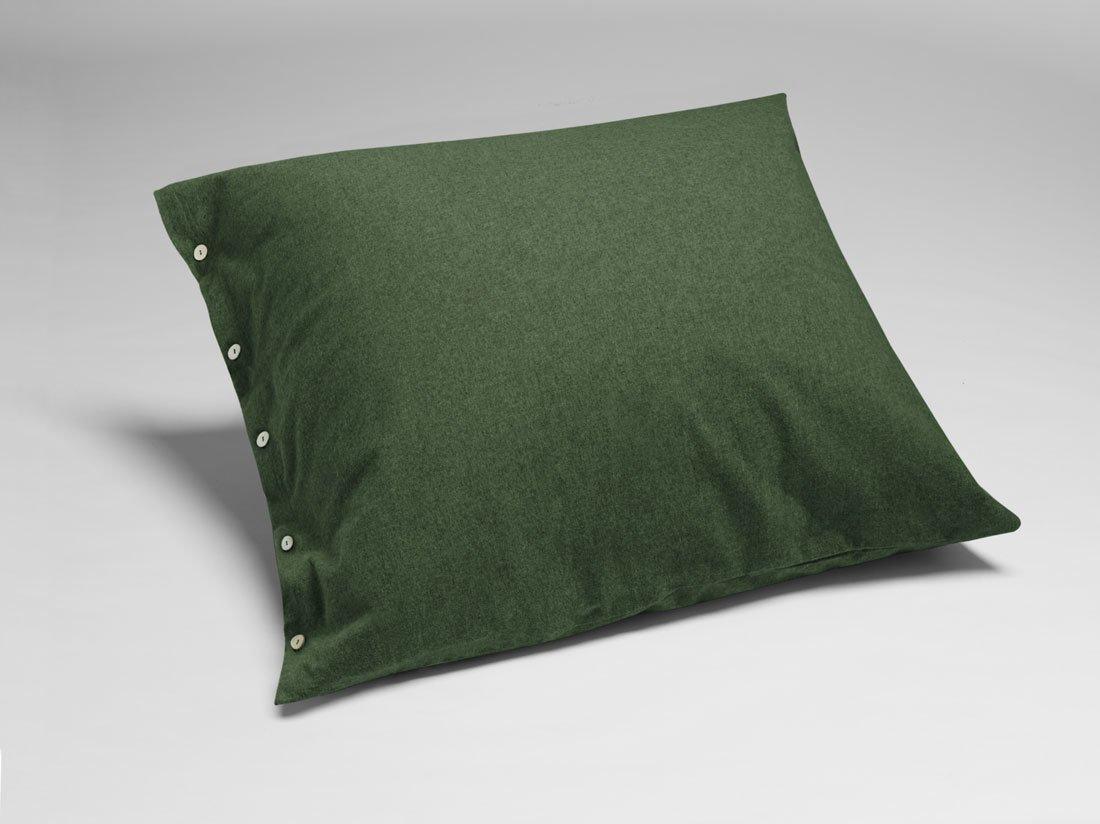 Kissenbezug Velvet Flanell Moss Green 80x80