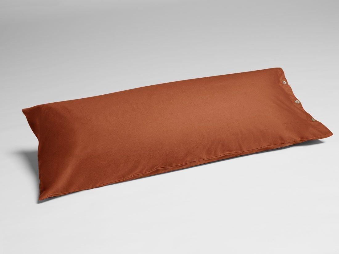 Kissenbezug Velvet Flanell Rusty Red 40x80