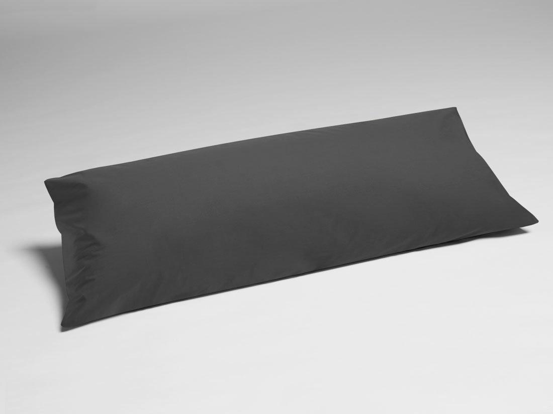Kissenbezug Perkal Dark Grey 40x80