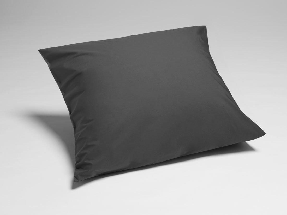 Kissenbezug Perkal Dark Grey 80x80