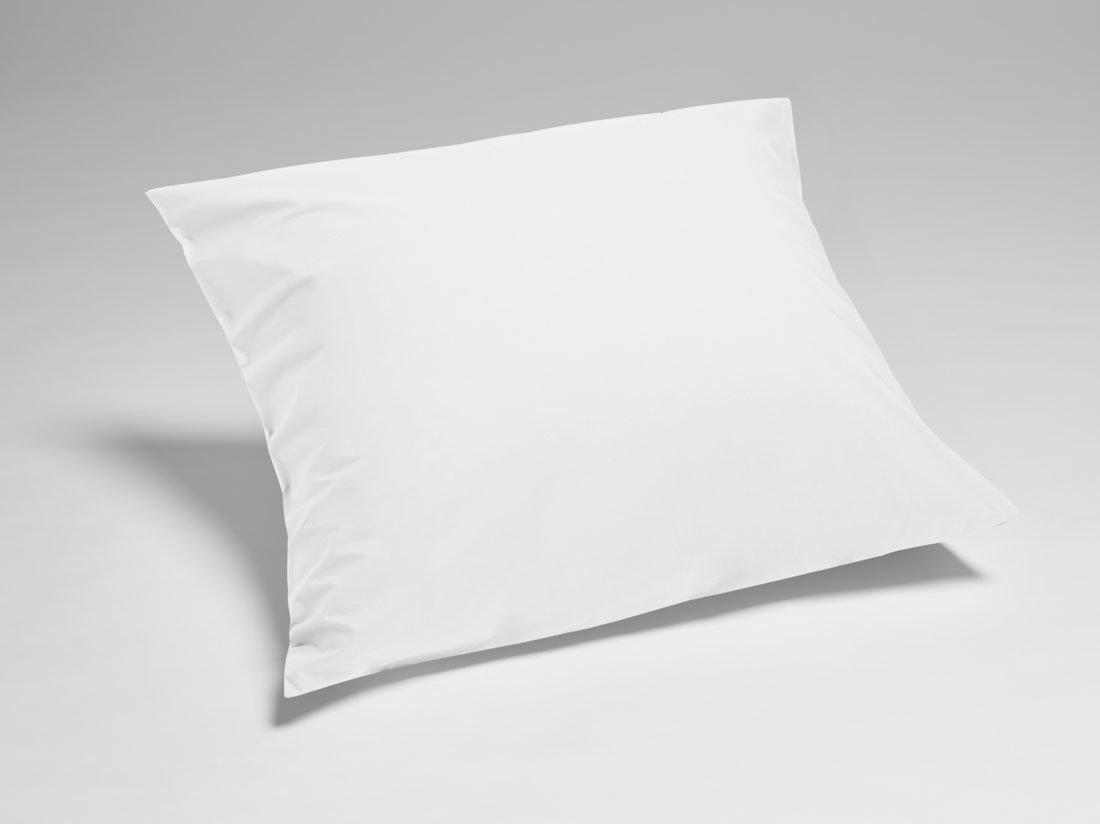 Kissenbezug Perkal Pure White 80x80