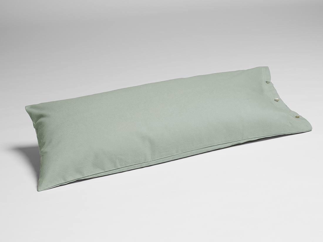 Kissenbezug Velvet Flanell Pale Green 40x80