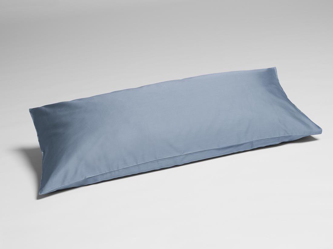 Kissenbezug Baumwollsatin Faded Blue 40x80
