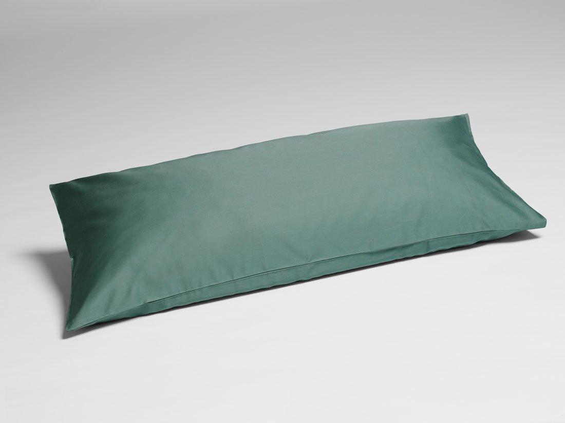 Kissenbezug Baumwollsatin Deep Green 40x80