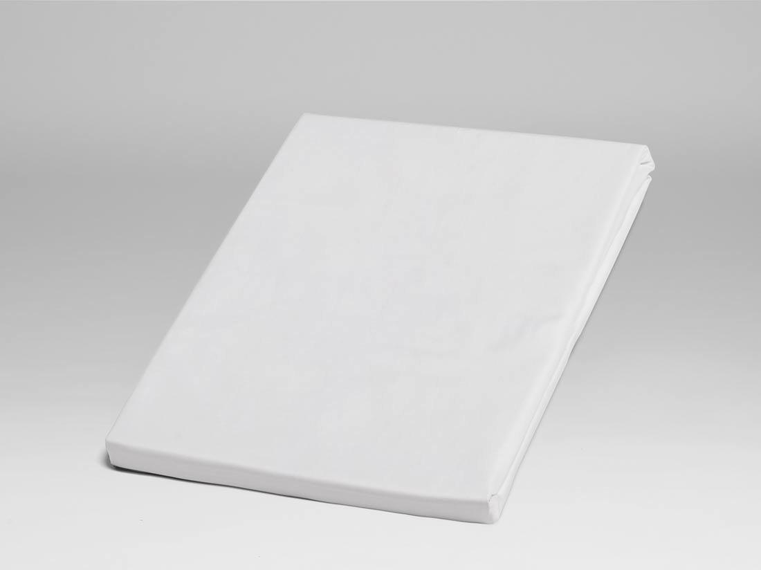 Spannbettlaken Perkal 300tc Pure White 90x200x30