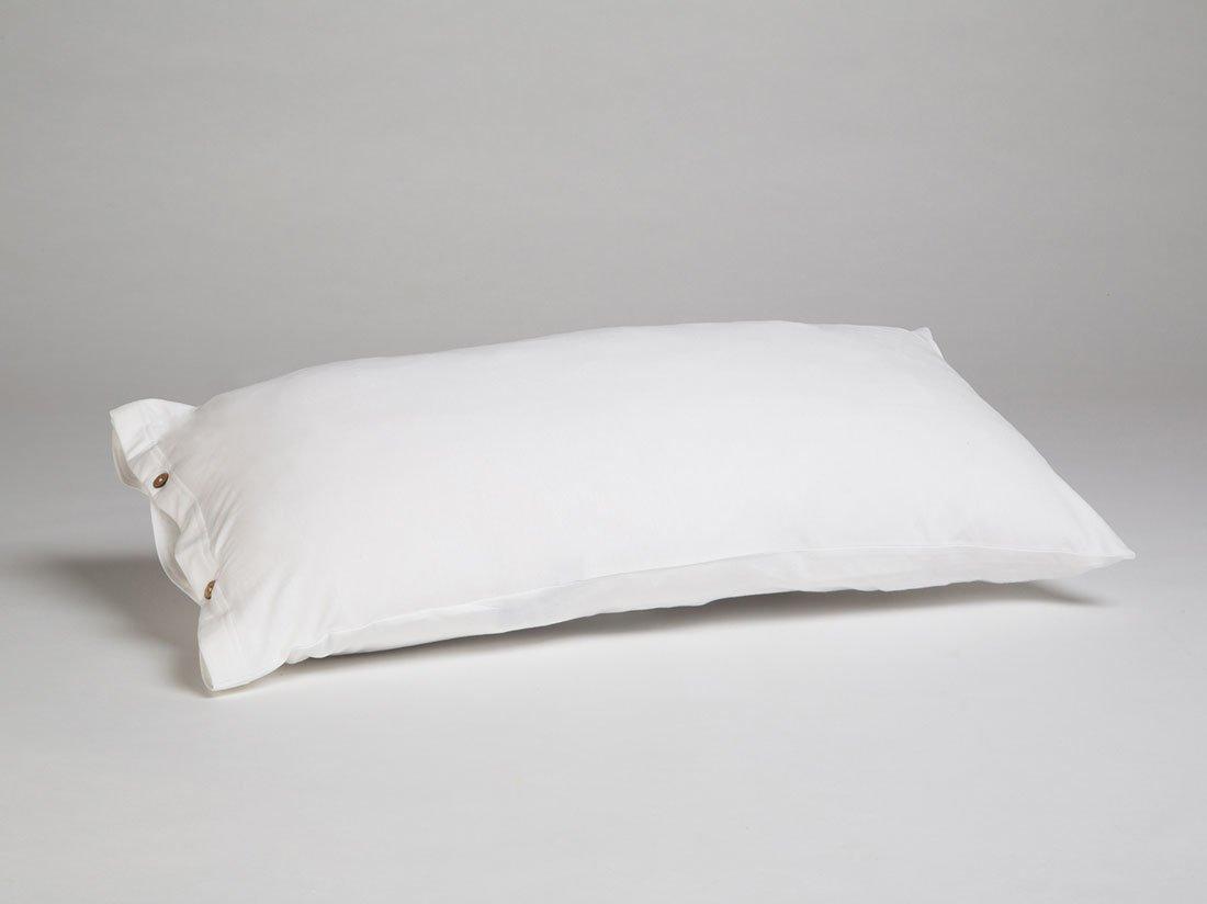 Kissenbezug Jersey Pure White 40x80