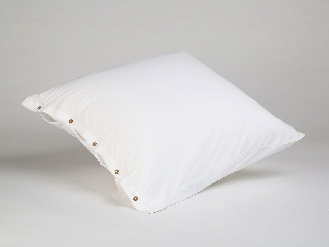 Kissenbezug Jersey Pure White 80x80