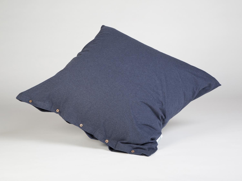 Kissenbezug Jersey 80x80 Indigo Blue