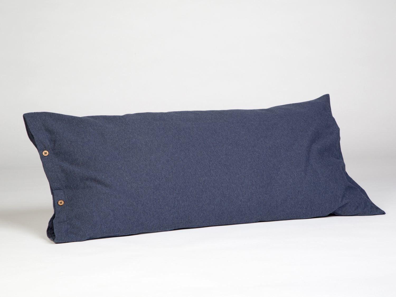 Kissenbezug Jersey 40x80 Indigo Blue