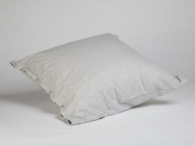Kissenbezug Velvet Flanell Light Grey 80x80
