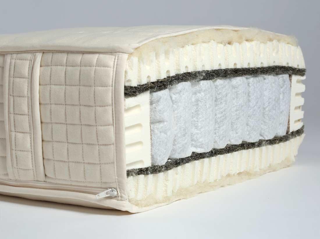 Yumeko matras pocketveer 2persoons 160x200 zacht zacht