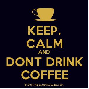 Door koffie slaapt u slechter