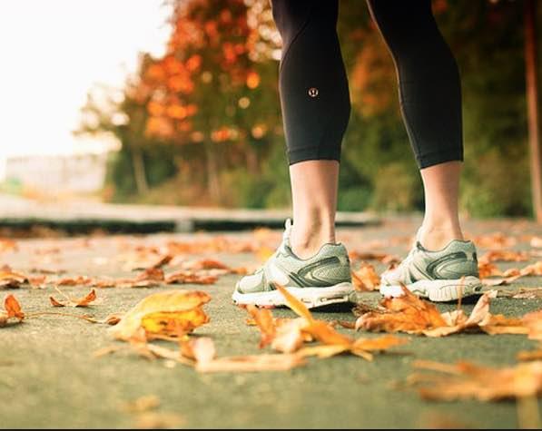 Sporten in de herfst