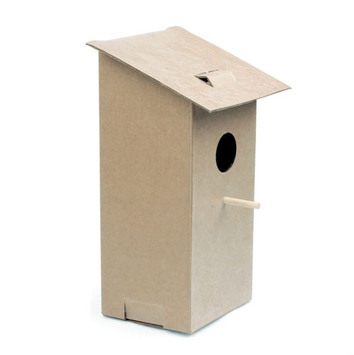 Foldable birdhouse