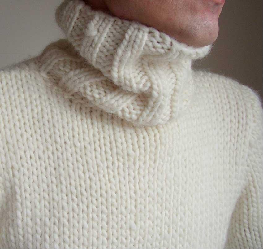 Lekkere dikke trui