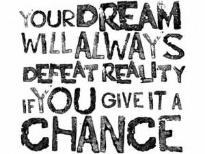 Zijn dromen werkelijkheid?