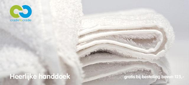 Gratis handdoek bij bestelling