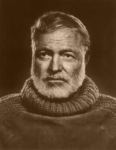 Ook Hemingway deed mee aan Warme Truiendag