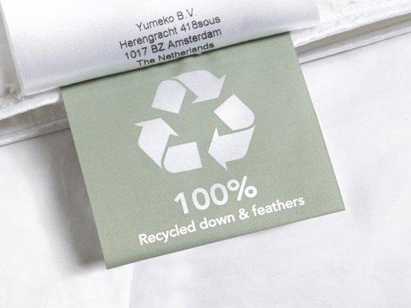 Yumeko recycled dekbed logo
