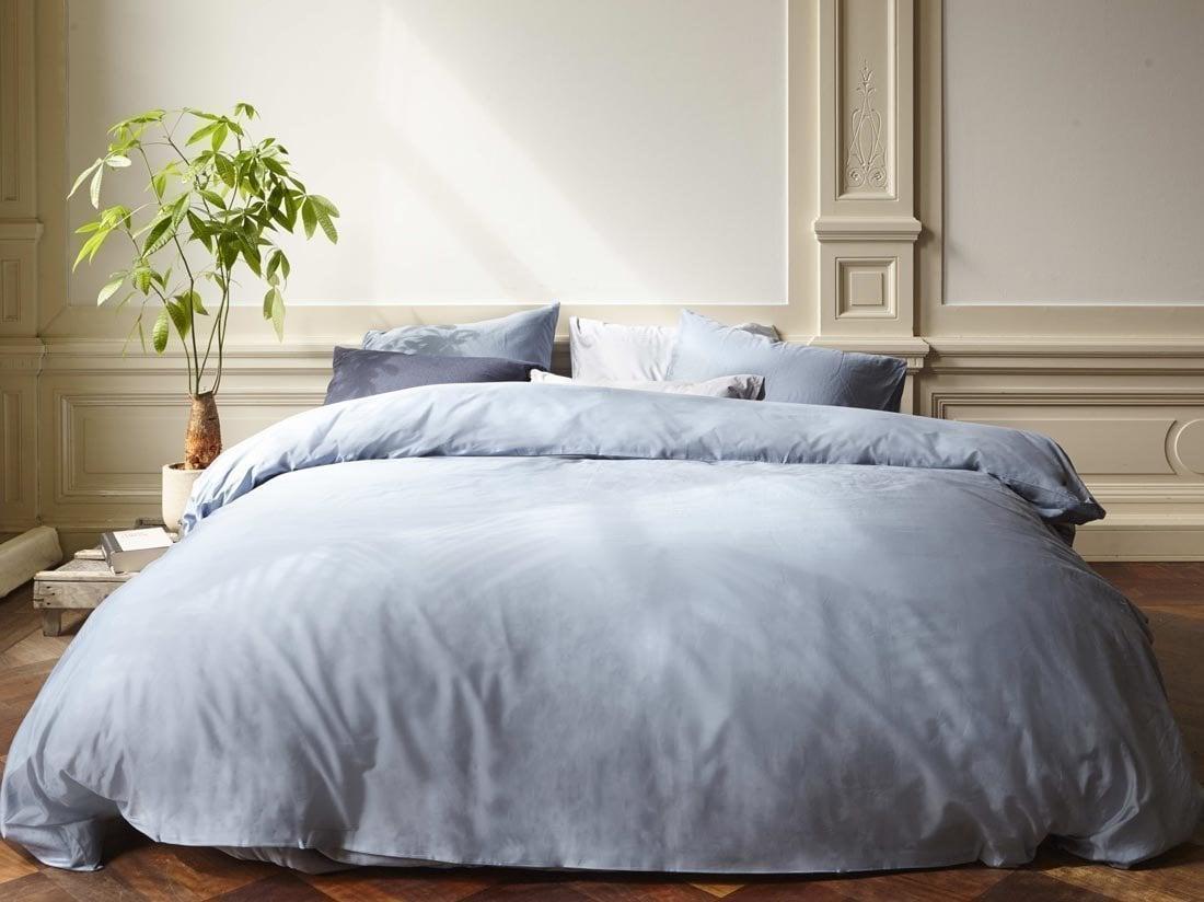 beter slapen in een blauwe slaapkamer