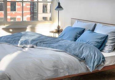 Blaue Schlafzimmer