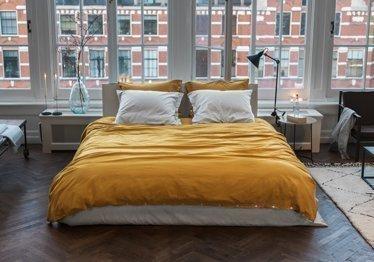 Gelbe Schlafzimmer