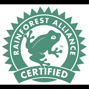 Rainforest Alliance Gütesiegel